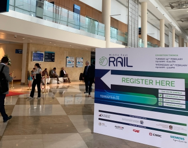งานแสดงสินค้า Middle East Rail 2020 ณ กรุงดูไบ สหรัฐอาหรับเอมิเรตส์